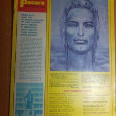 Revista flacara 11 ianuarie 1975-cuvantarea lui ceausescu la tv in noul an