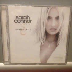 SARAH CONNOR - UNBELIEVABLE (2002/ X-CELL REC/ SONY/ GERMANY ) - CD NOU/SIGILAT - Muzica Pop sony music