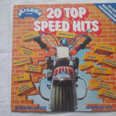 Various – 20 Top Speed Hits _ vinyl(LP, compilatie) Germania - Muzica Dance Altele, VINIL