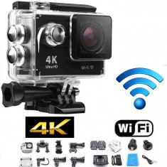 CAMERA DE ACTIUNE HD 4K Similar GOPRO + Acesorii Prindere - Camera Video Actiune
