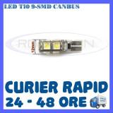 Cumpara ieftin BEC AUTO LED LEDURI POZITIE T10 W5W - 9 SMD CANBUS FARA EROARE - POZITII