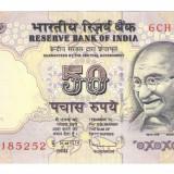 INDIA 50 RUPII 2011 - UNC!