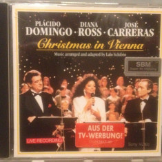 DOMINGO/ROSS/CARRERAS -CHRISTMAS IN VIENNA (1993/SONY REC/HOLLAND) - CD/ORIGINAL - Muzica Opera sony music