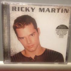 RICKY MARTIN - THE ALBUM (1999/COLUMBIA REC/GERMANY) - CD NOU/SIGILAT - Muzica Pop sony music