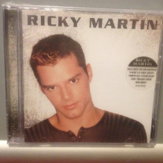 RICKY MARTIN - THE ALBUM (1999/COLUMBIA REC/GERMANY) - CD NOU/SIGILAT - Muzica Pop sony music