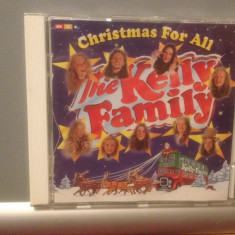 THE KELLY FAMILY - CHRISTMAS FOR ALL(1994 /KEL-LIFE/GERMANY ) - CD/ORIGINAL/ POP - Muzica Pop Altele