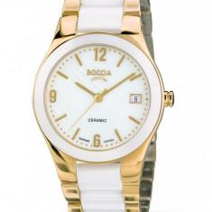 Ceas Boccia dama cod 3189-03 (titan+ceramica) - pret 719 lei; NOU, original - Ceas dama Boccia, Elegant, Quartz, Data