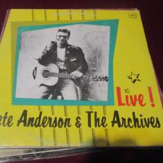 DISC VINIL  PETE ANDERSON & THE ARCHIVES