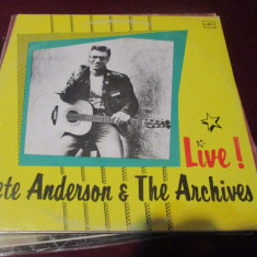 DISC VINIL PETE ANDERSON & THE ARCHIVES - Muzica Rock & Roll