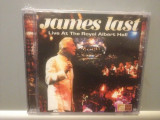 JAMES LAST -  LIVE AT THE ROYAL ALBERT HALL( 2008/EAGLE / USA ) - CD/SIGILAT/NOU