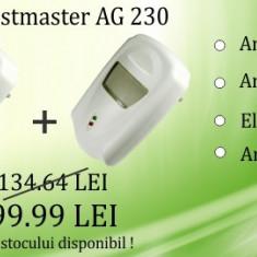 2 x Pest Repeller - aparat cu unde electromagnetice anti gandaci, anti rozatoare Pestmaster AG230 - - Aparat antidaunatori