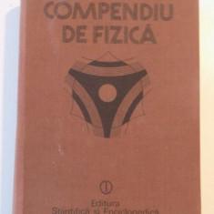COMPENDIU DE FIZICA de ION BUNGET, LUCIAN BURLACU... BUC. 1988 - Carte Matematica
