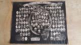 FOTOGRAFIE MARE TABLOU - SLAVA LUPTATORILOR SARBI CAZUTI IN RAZBOIUL 1914 - 1918