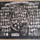 FOTOGRAFIE MARE TABLOU - SLAVA LUPTATORILOR SARBI CAZUTI IN RAZBOIUL 1914 - 1918 - Fotografie veche