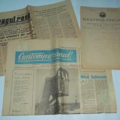 Lot 15 ziare si reviste Steagul Rosu, Romania pitoreasca s.a.