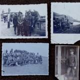 LOT FOTO MILITARI ROMANI WW2 - Fotografie veche