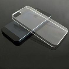Husa iPhone 5 5S SE Transparenta - Husa Telefon Apple, Plastic, Fara snur, Carcasa