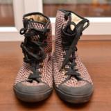Tenisi Pantofi Sport Roz, textil, marime 39