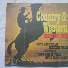 Various - Country & Western Greatest Hits II _ vinyl(LP) Romania - Muzica Country electrecord, VINIL