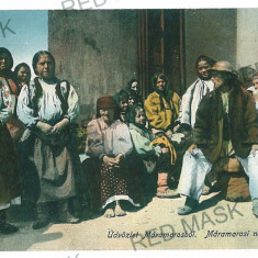720 - Maramures, ETHNICS - old postcard - unused - Carte Postala Maramures 1904-1918, Necirculata, Printata