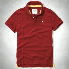 Tricou Polo ABERCROMBIE FITCH - Tricou Barbati - 100% AUTENTIC, Marime: L, Culoare: Din imagine, Maneca scurta, Bumbac