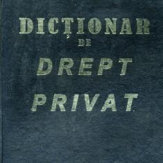 Dictionar de drept privat - 518067 - Carte Drept administrativ