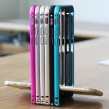 Bumper iPhone 6 6S Plus Aluminiu Gri