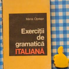 Exercitii de gramatica italiana Maria Oprea Altele