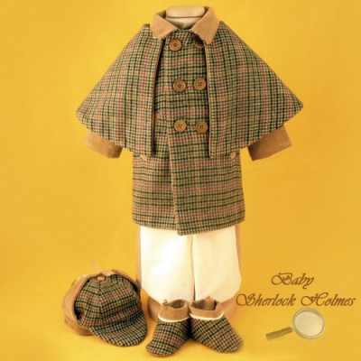 Tinute Botez Baieti Sherlock Holmes Imbracaminte Pentru Varsta 3
