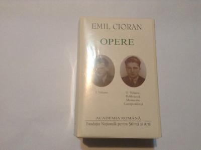 Emil Cioran - Opere 4 vol foto