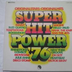 Various – Super Hit Power '76 _ vinyl(LP, compilatie) Germania - Muzica Pop emi records, VINIL