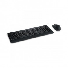 Kit tastatura + mouse Microsoft Wireless Desktop 900 negru PT3-00021, Optica