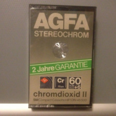 Casete Audio AGFA STEREO CHROME 60 +6 min - SM HIFI - made in GERMANY