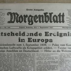 WWII - INVAZIA POLONIEI SI ANEXAREA DANZIG-ului - 1 SEPT 1939 - MORGENBLATT
