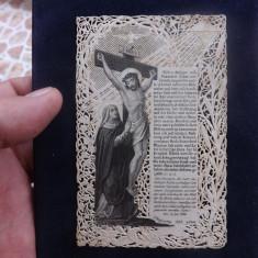 Rugaciune saseasca,tiparita de la 1858.