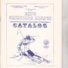 Bnk fil Catalog Expo Olimpiada Alba 1988 Sinaia 1988