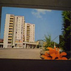 R.S.R. - SATU  MARE - PIATA  REPUBLICII - CIRCULATA, TIMBRATA ., Fotografie, Satu Mare