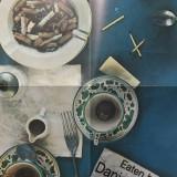 Daniel Spoerri(n.1930, Galati) - Invitatie afis expozitie, semnatura artistului - Litografie