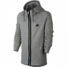 BLUZA NIKE MODERN FT FZ HOODY LONGSLEEVE COD 727336-063 - Bluza barbati Nike, Marime: S, L, XL, Culoare: Gri
