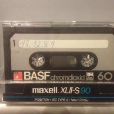Casete Audio BASF CHROMDIOXID SM  60 min - IEC II - made in W.GERMANY