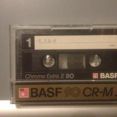 Casete Audio BASF CHROME EXTRA II 90 min - IEC II - made in W.GERMANY - Casetofon