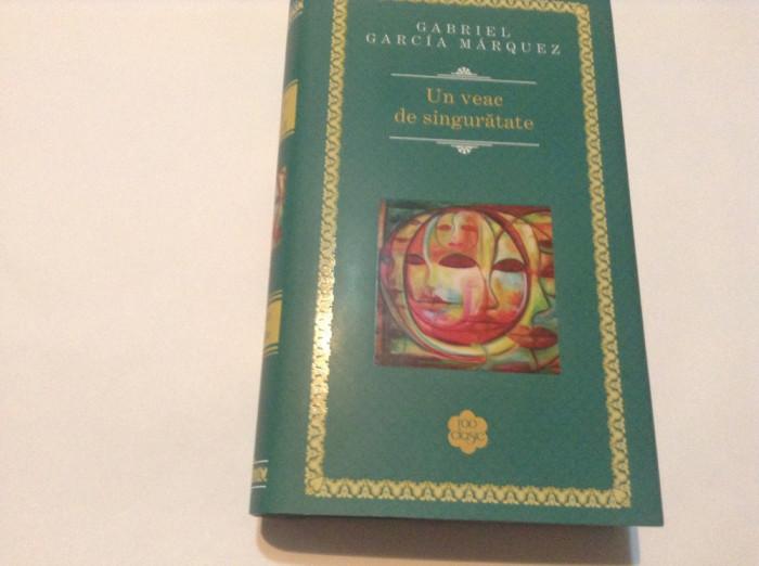 UN VEAC DE SINGURATATE de GABRIEL GARCIA MARQUEZ , 2014,rf6/3