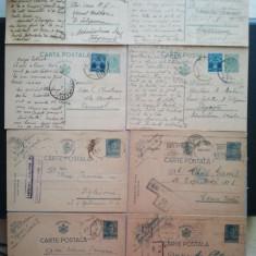 24 CARTI POSTALE + 4 NECENZURATE - PERIOADA INTERBELICA RAZBOI ROMANIA, Altul, Romania 1900 - 1950
