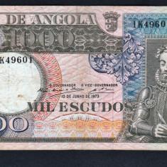 Angola 1000 Escudos [4] 1973 108 - bancnota africa