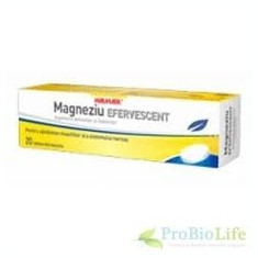 WM-MAGNEZIU EFERVESCENT 20CPR