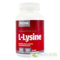 L-LYSINE 100CPS-Antianemic,, Litiaza renala - Supliment sport