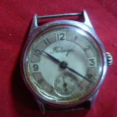 Ceas mana barbatesc f.vechi- URSS marca Pobeda, functional - Ceas barbatesc
