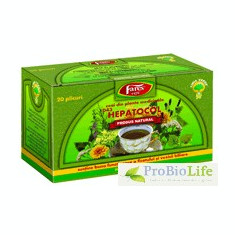 Ceai Hepatocol 20PLC FARES - Ceai naturist