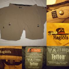 Pantaloni HAGLOFS Climatic Teflon (50/L) barbati vanatoare pescuit munte tura - Pantaloni barbati, Culoare: Din imagine