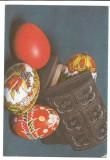 @carte postala(ilustrata) -FELICITARE de paste, Circulata, Printata